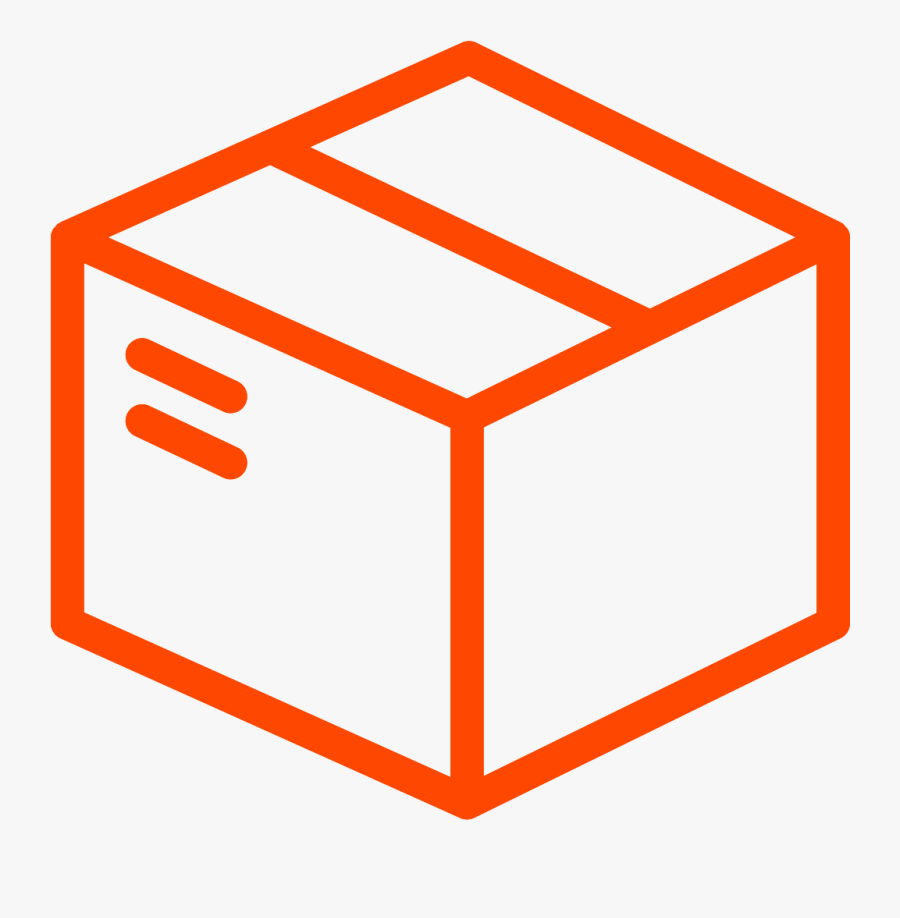 Fedex Clipart Ups Usps - Shipping Box Icon Png, Transparent Clipart