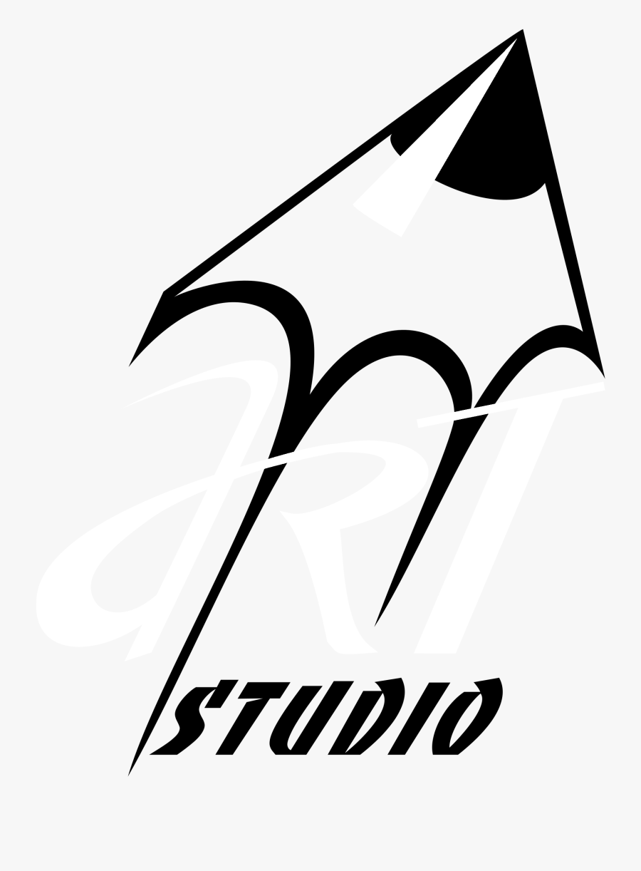 Art Studio Logo Black And White - Logo For Art Studio, Transparent Clipart