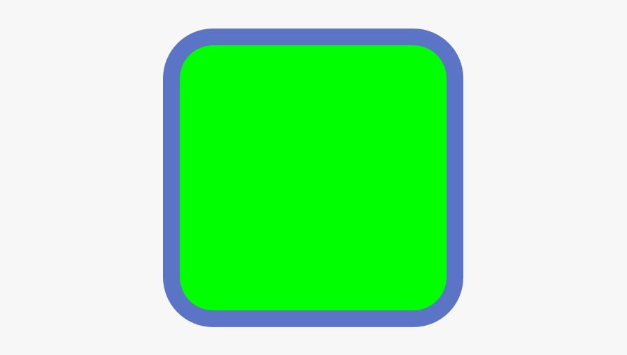 Green Square Svg Clip Arts - Green Square, Transparent Clipart