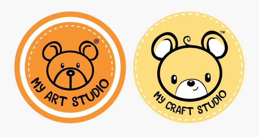 My Art Studio Logo, Transparent Clipart