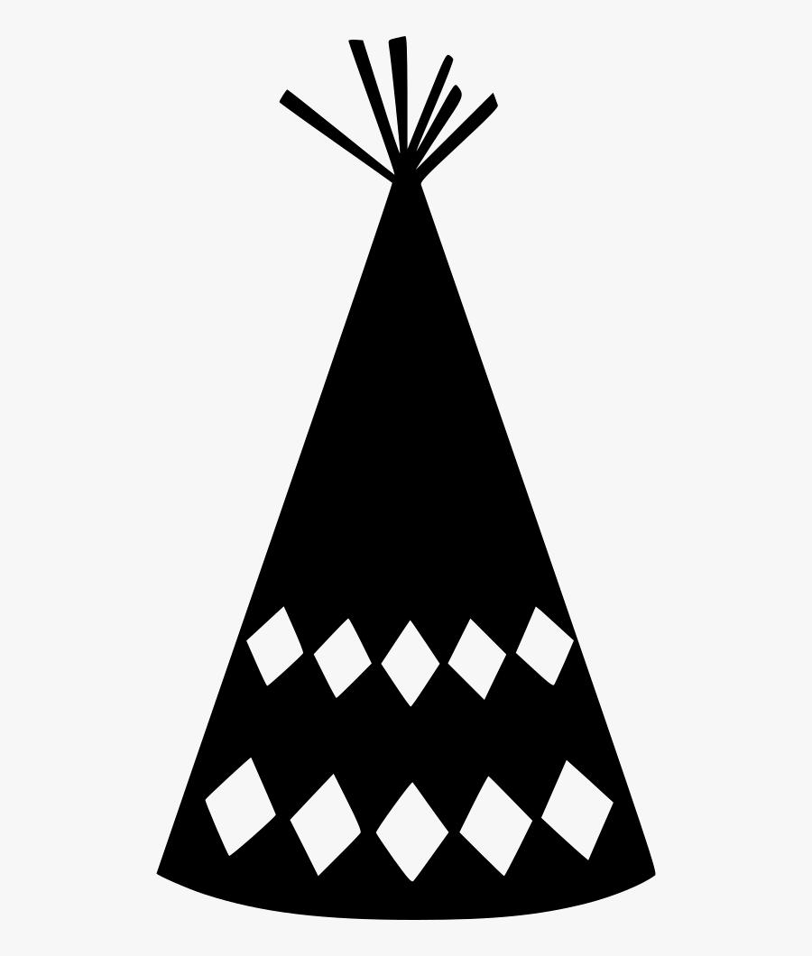 Party Hat Chequer Comments , Transparent Cartoons - Party Hat, Transparent Clipart