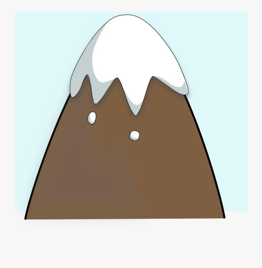 Transparent Cartoon Snow Png - Clipart Mountain, Transparent Clipart