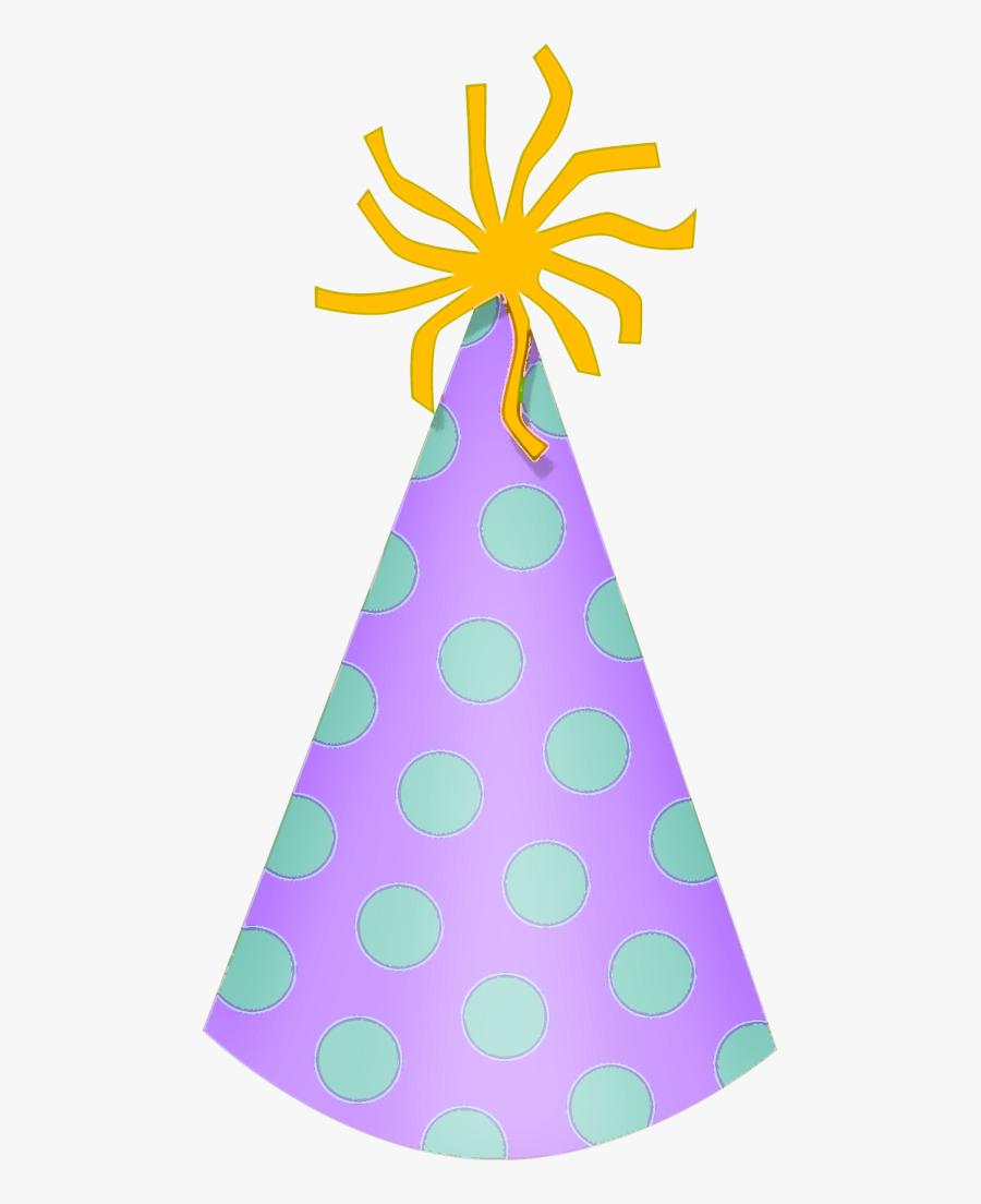 Birthday Hat 9 Clip Art - Transparent Background Birthday Hat, Transparent Clipart