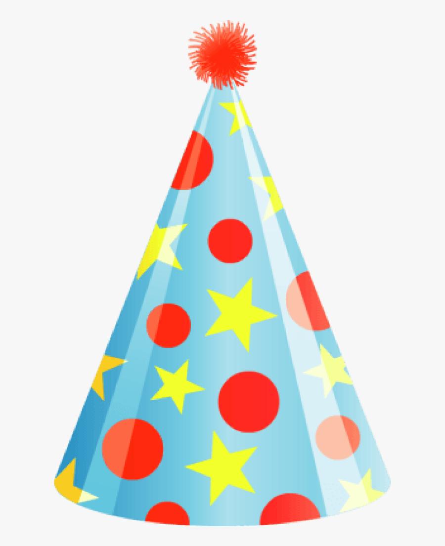 Transparent Party Hat Teacher Clipart Hatenylo - Transparent Background Birthday Hat Vector, Transparent Clipart