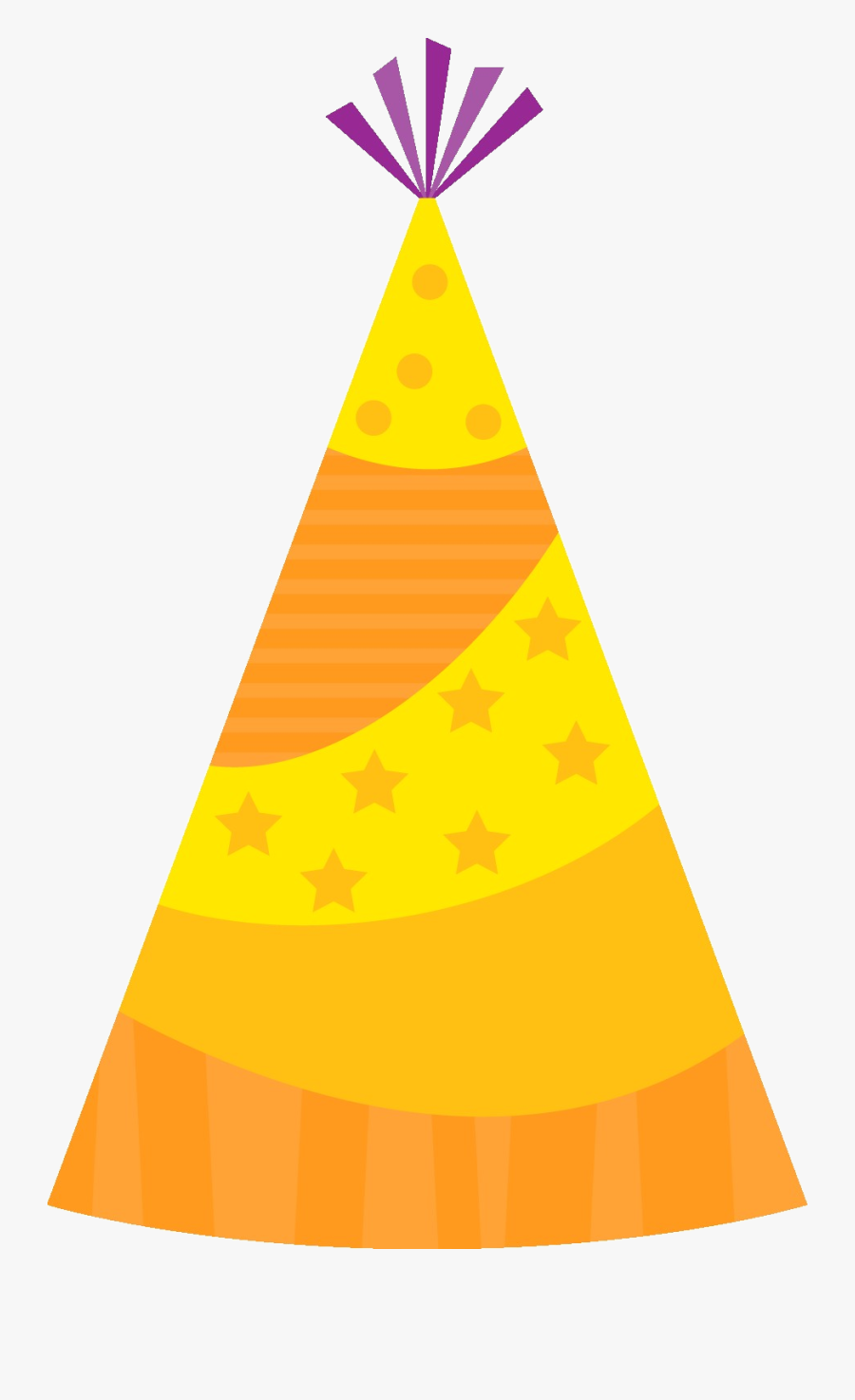Party Hat Birthday Clipart Image Transparent Png - Party Hat Clipart Png, Transparent Clipart