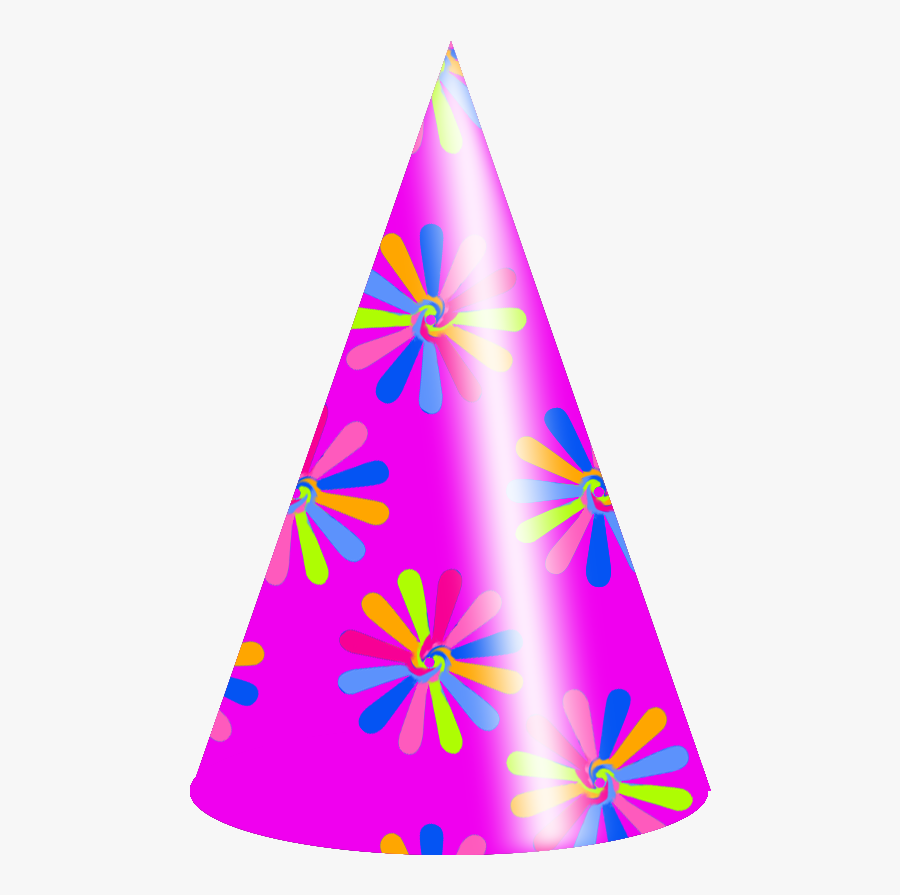 How To Make A Party Hat - Transparent Background Birthday Hat Png, Transparent Clipart