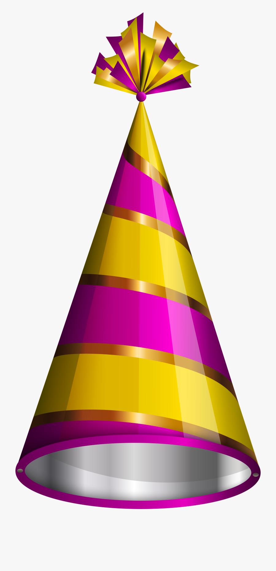 Birthday Hat Birthday Party Hat Clipart Image - Birthday Hat Png Transparent, Transparent Clipart