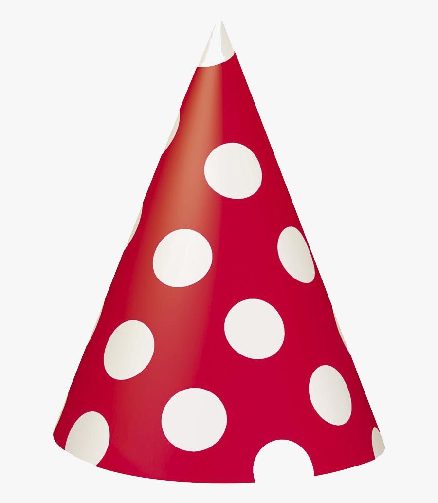 Transparent Birthday Hat Clipart Transparent Background - Red Birthday Hat Png, Transparent Clipart