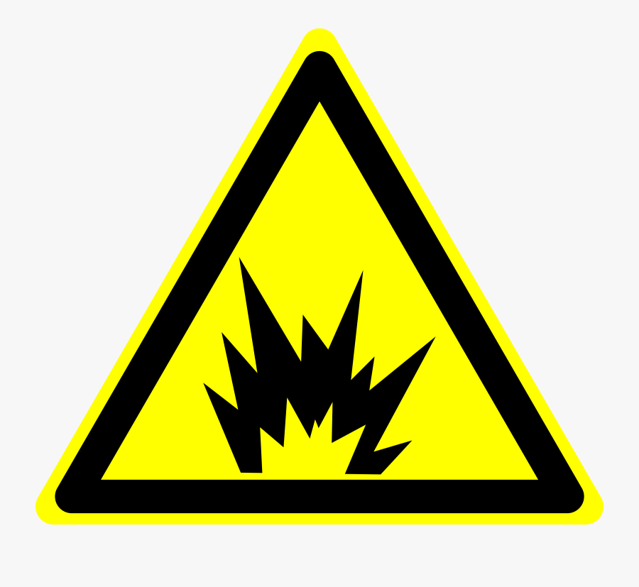 Chemical Explosion Clipart Clipartcow - Fire And Explosion Hazard, Transparent Clipart