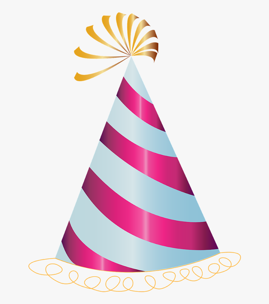 Happy Birthday Text Png, Birthday Text Png, Pngs, Png, - Transparent Background Birthday Hat, Transparent Clipart
