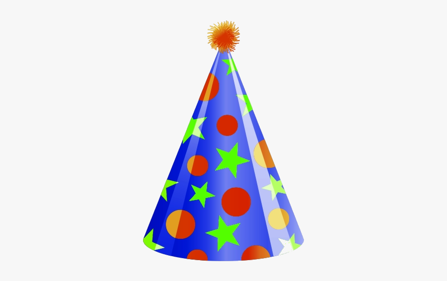 Party Hat Clipart Birthday Clip Art No Background Free - Birthday Hat Clip Art Png, Transparent Clipart