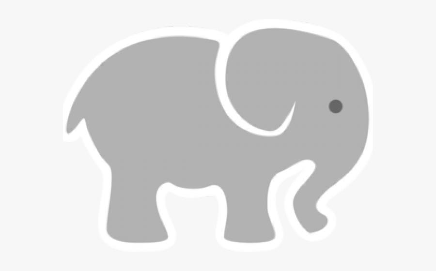 Baby Elephant Clipart - Grey Baby Elephant Clipart , Free ...