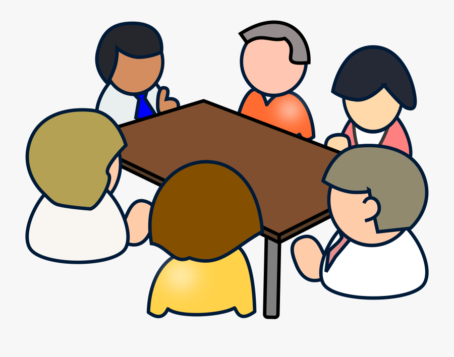 Transparent Business Meeting Png - Clip Art Meetings, Transparent Clipart