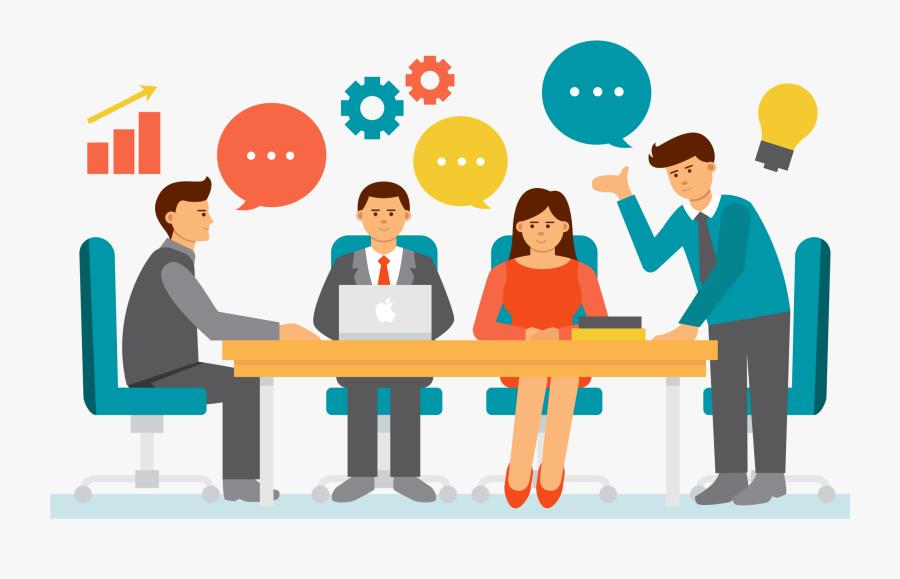 Clip Art Businessperson Teamwork Transprent Png - Team Work Png, Transparent Clipart