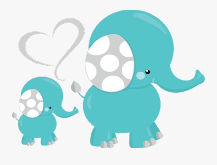 #baby #elephant #bebe #elefante - Baby Elephant Baby Shower Png, Transparent Clipart