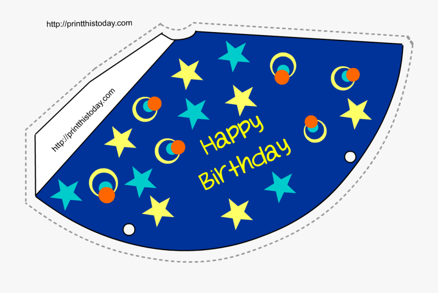 Birthday Hat Clipart Bag - Kaiserreich Pacific States Of America, Transparent Clipart