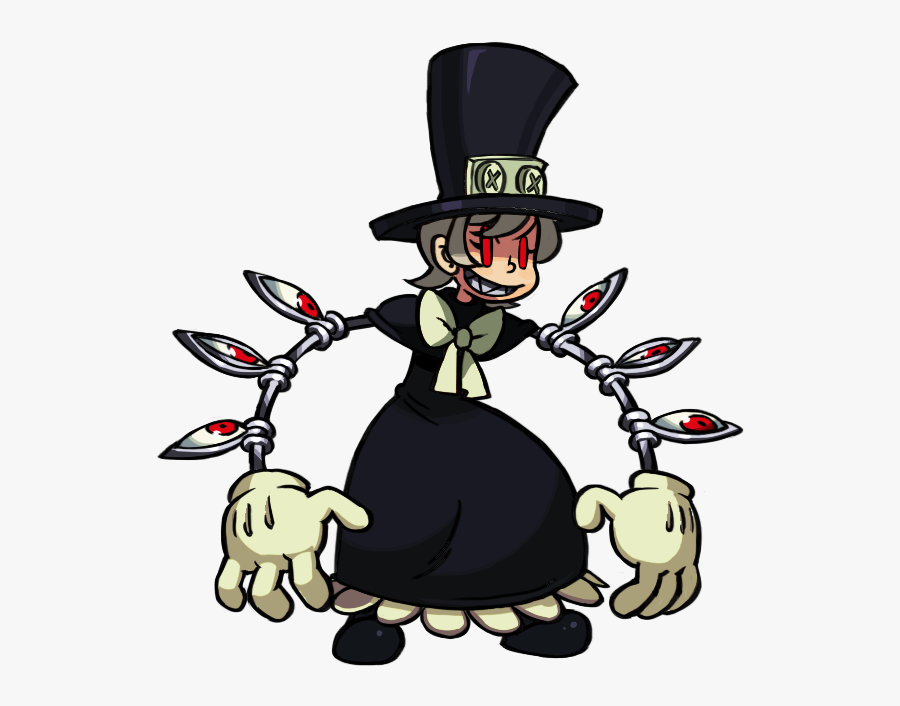 Skullgirls Peacock Animation Clipart Png Download