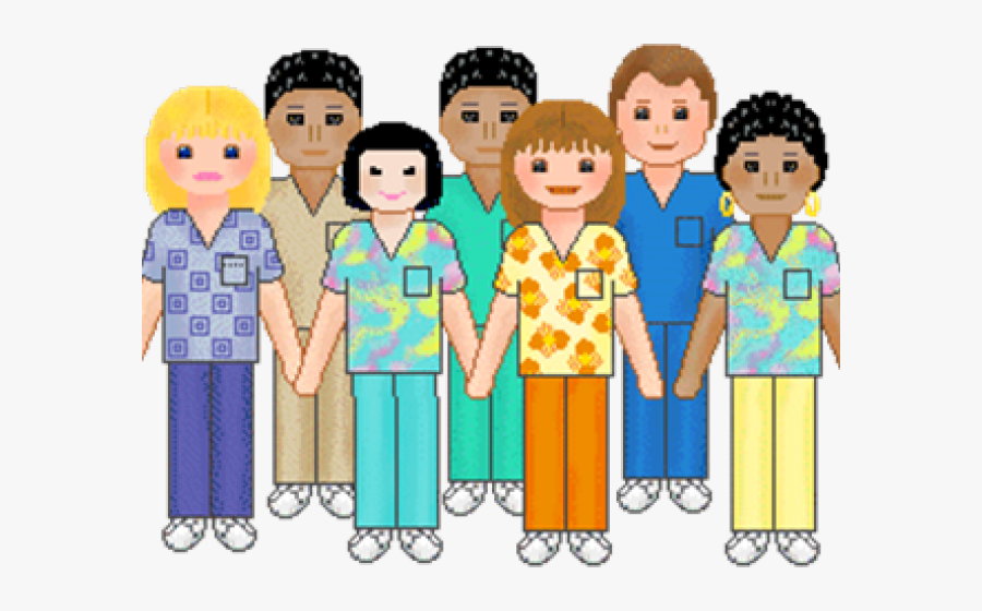 Group Of People Clip Art, Transparent Clipart