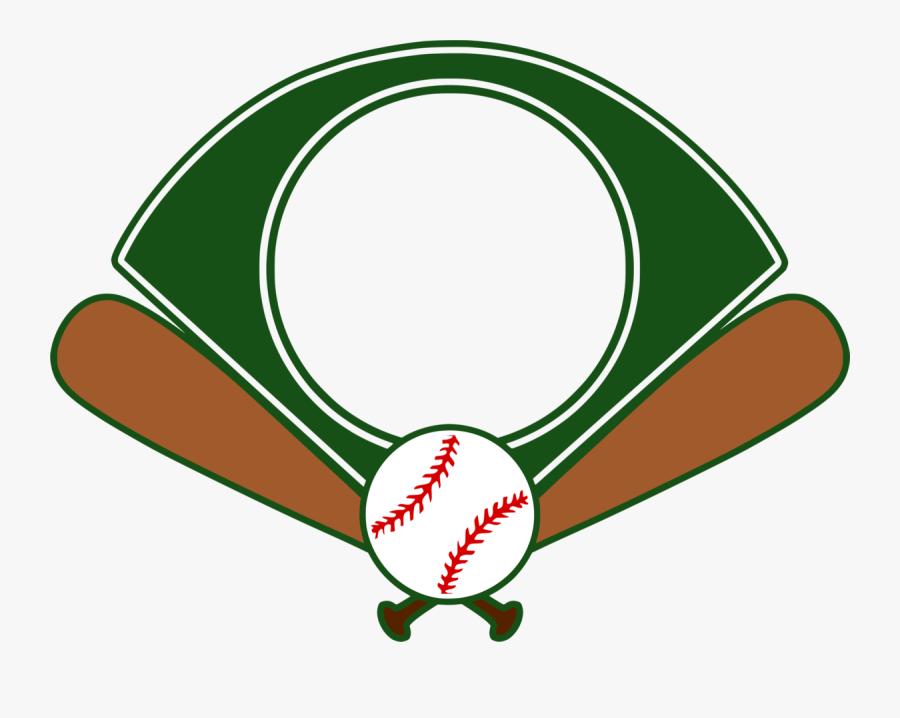 Baseball Field Monogram - Baseball Field Png, Transparent Clipart