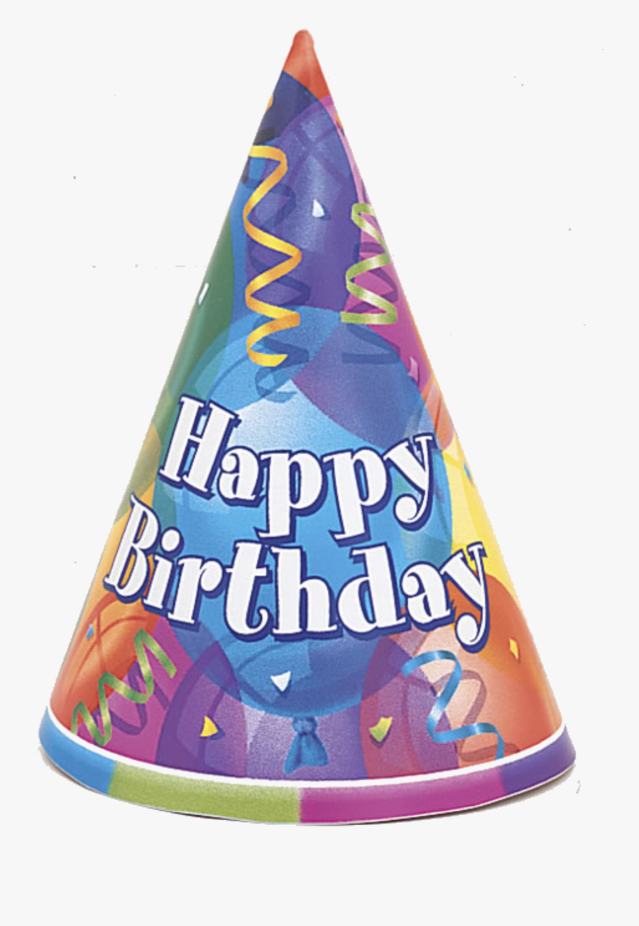 Party Hat Happy Birthday Clipart Transparent Png - Happy Birthday Party Hat Clipart, Transparent Clipart