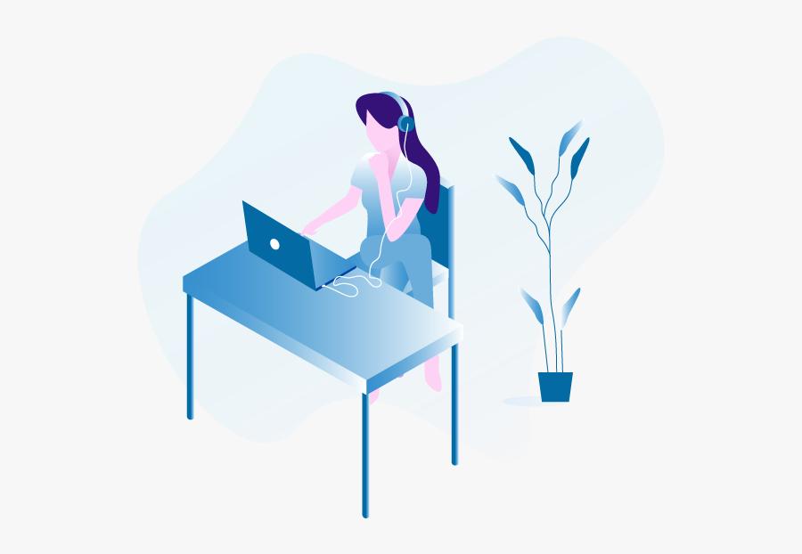 Sitting Clipart , Png Download - Illustration, Transparent Clipart