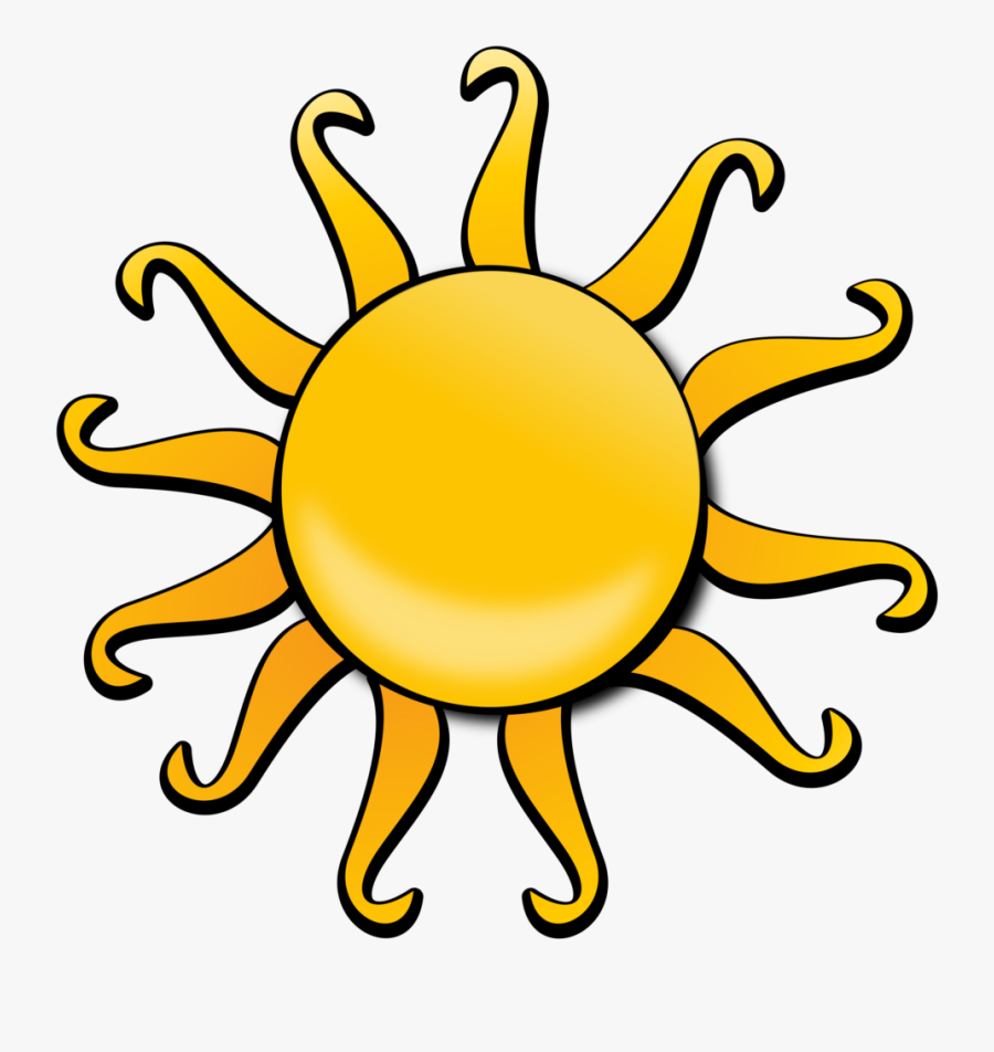 Free To Use & Public Domain Space Clip Art - Drawing For Animation Sun, Transparent Clipart