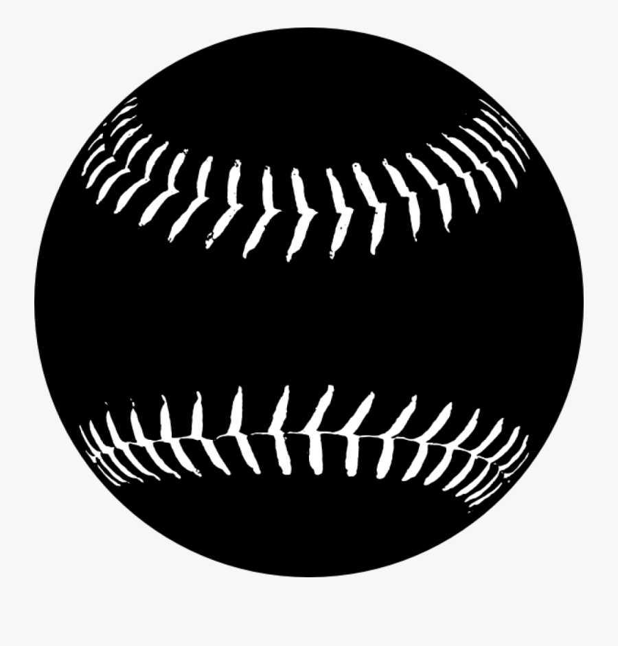 Softball Clipart Free Graphics Images Pictures Players - Black And White Softball, Transparent Clipart