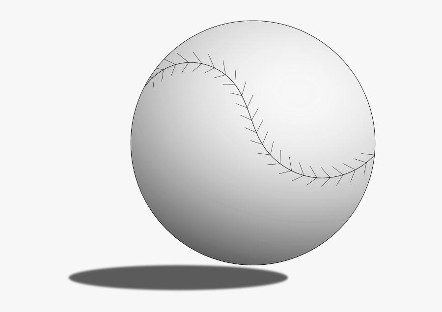 Transparent Baseball Diamond Clipart Black And White - Field Hockey Ball Clip Art, Transparent Clipart