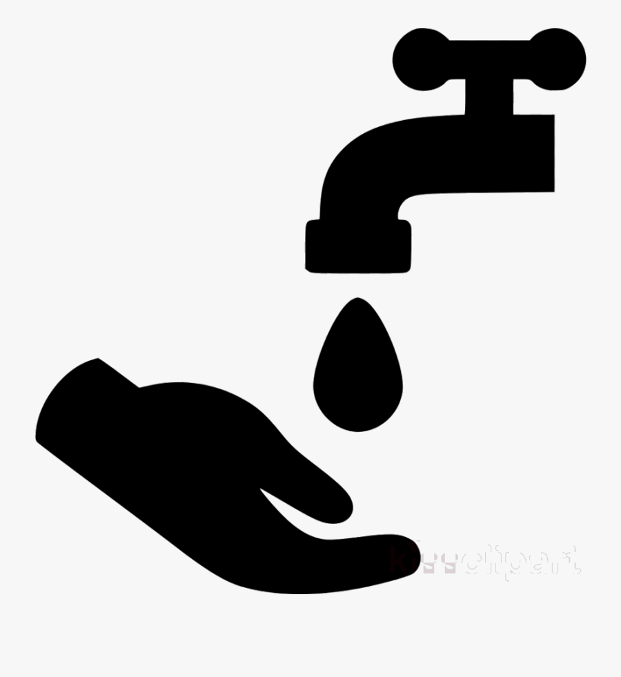 Washing Hands Trend Hand Cleaning Black Transparent - Hand Wash Clip Art, Transparent Clipart