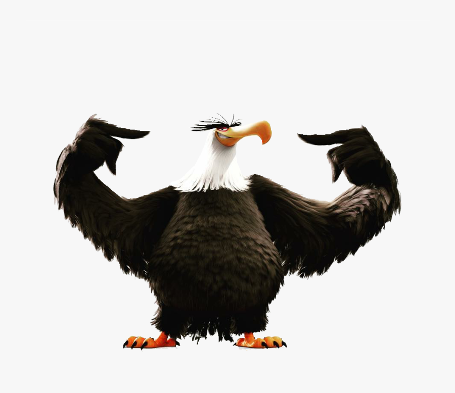 White Tailed Eagle Angry - Mighty Eagle Angry Birds Evolution, Transparent Clipart