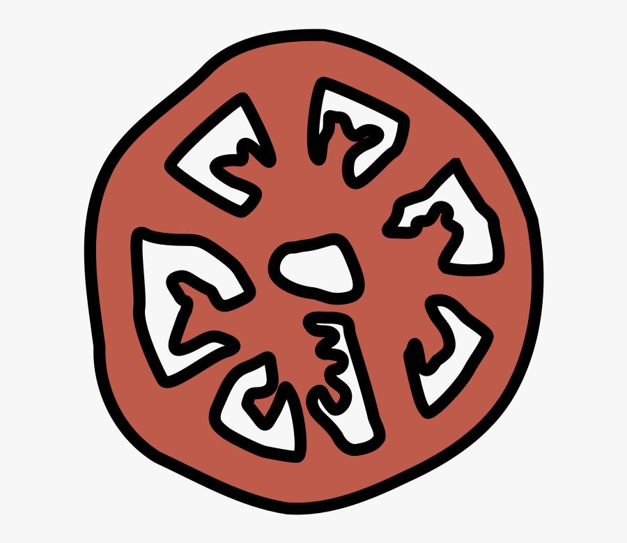 Area,symbol,headgear - Tomato Pizza Clipart, Transparent Clipart
