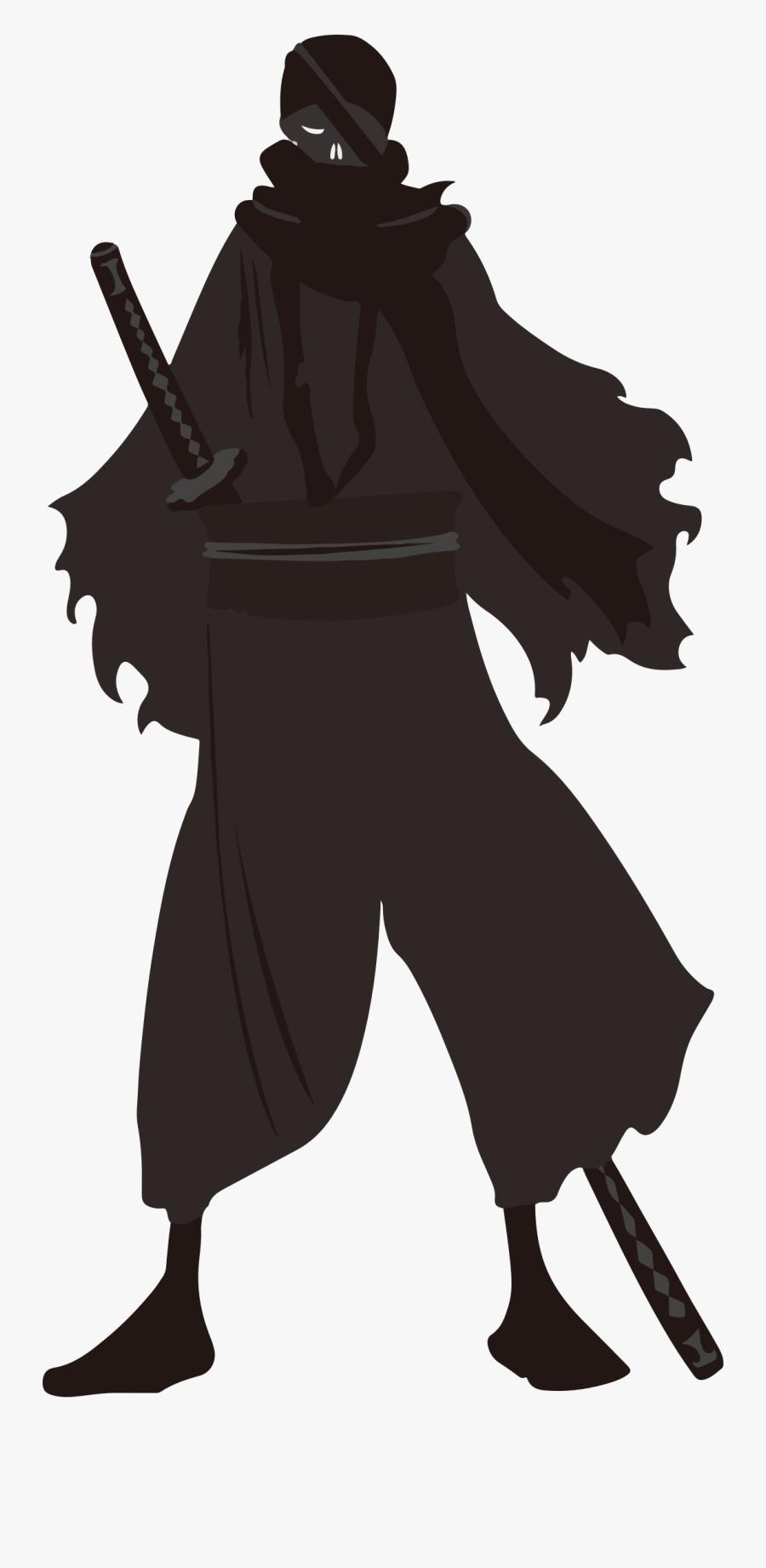 Ninja Public Domain Clip Art - Ninja Png, Transparent Clipart