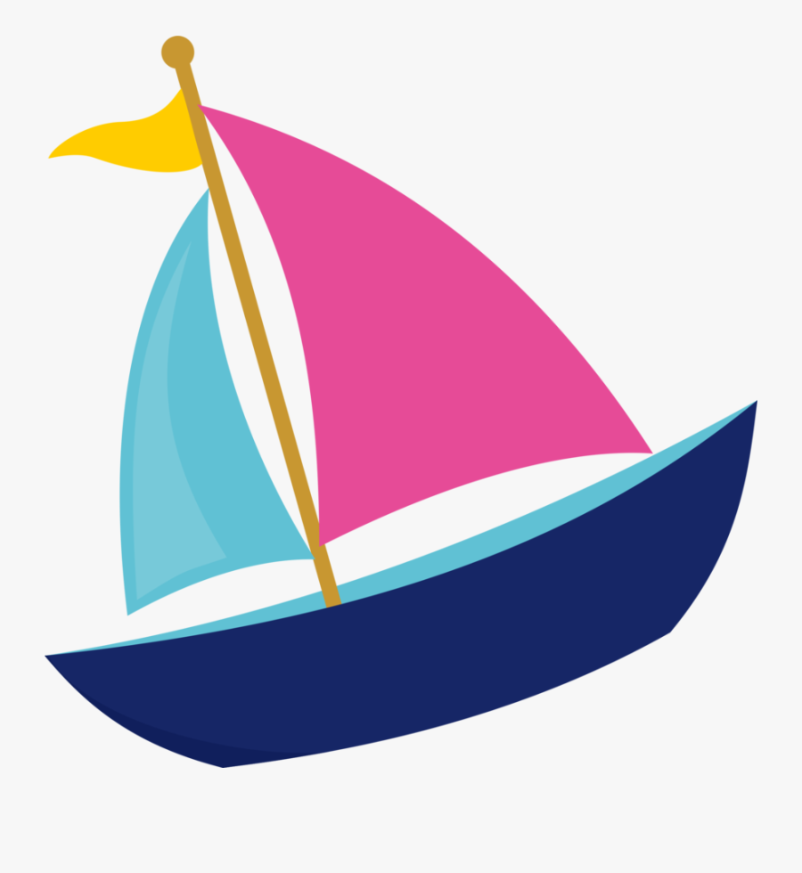 Sailboat Clipart File - Pink Sail Boat Clip Art, Transparent Clipart
