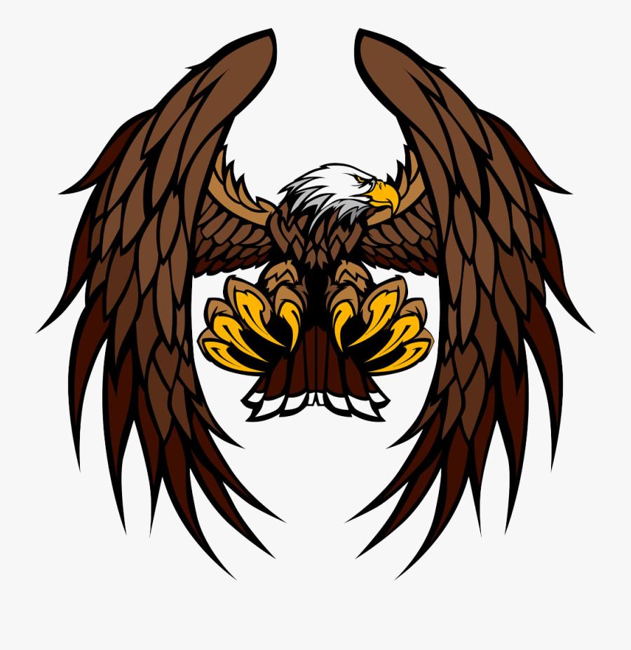 Transparent Bald Eagle Clipart - Logo Dream League Soccer 2019, Transparent Clipart