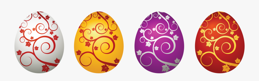 Easter Eggs Decorative Png Clipart Picture - Easter Eggs Vector Png, Transparent Clipart