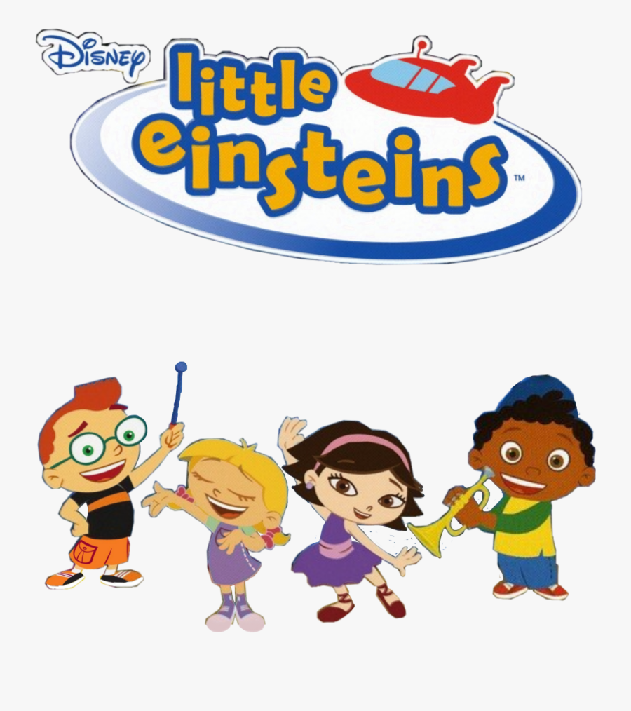 #leo #june #annie #quincy #little #einsteins #littleeinsteins - Blues Clues And Little Einsteins, Transparent Clipart