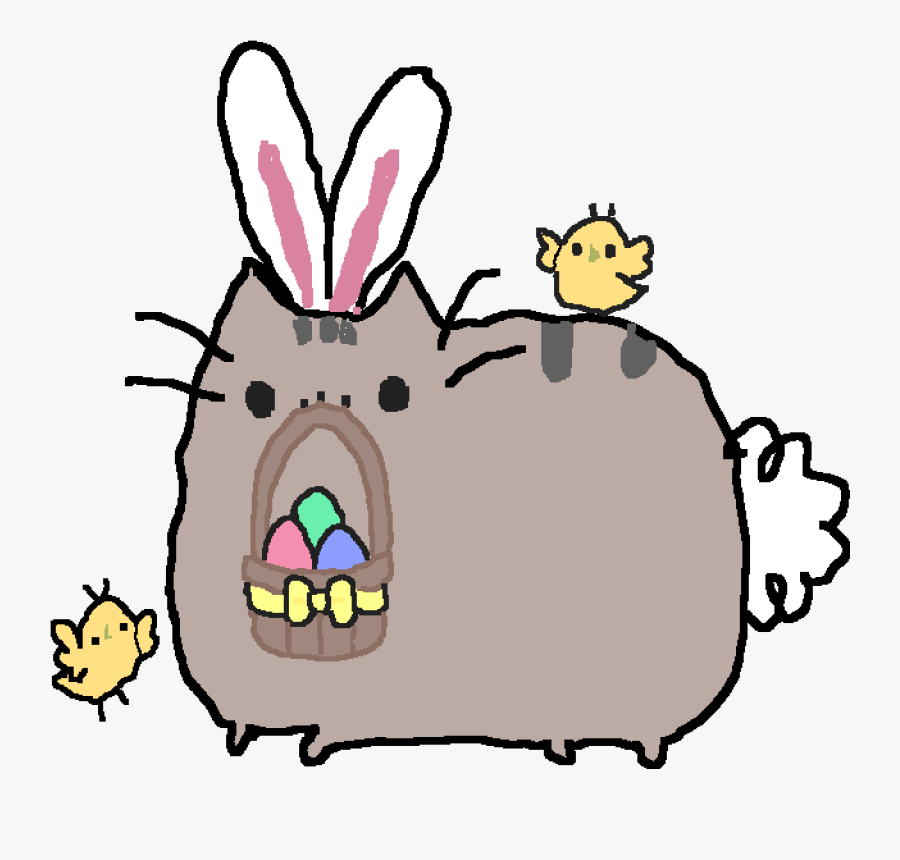 Cute Pusheen Gif Clipart , Png Download - Happy Fathers Day Pusheen Png, Transparent Clipart
