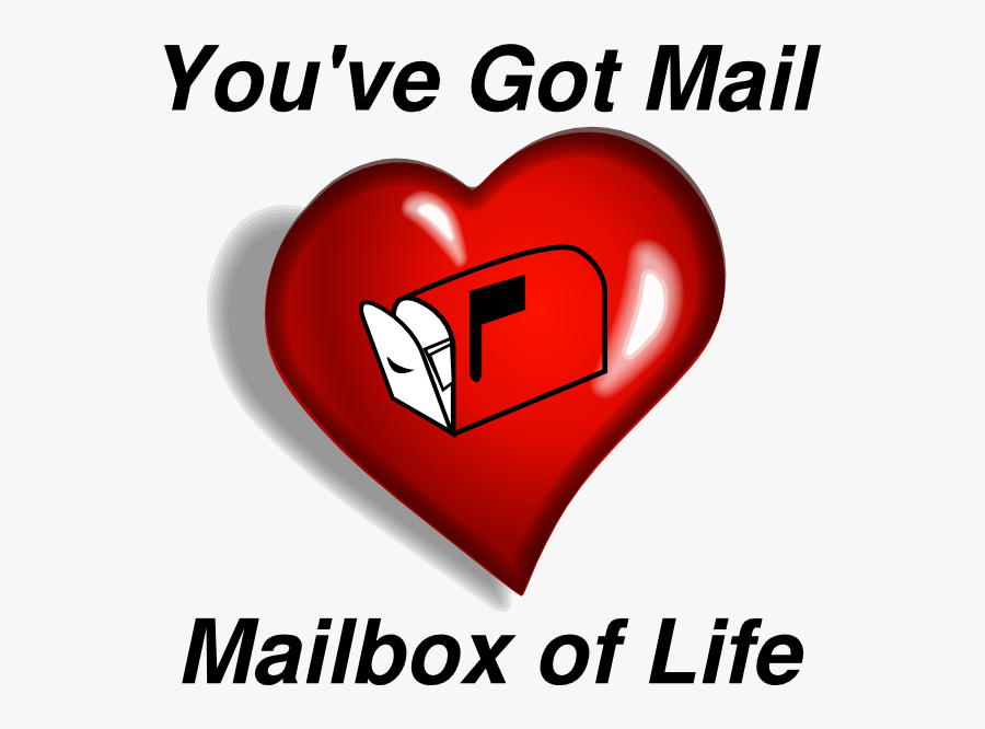 You Ve Got Mail Mailbox, Transparent Clipart