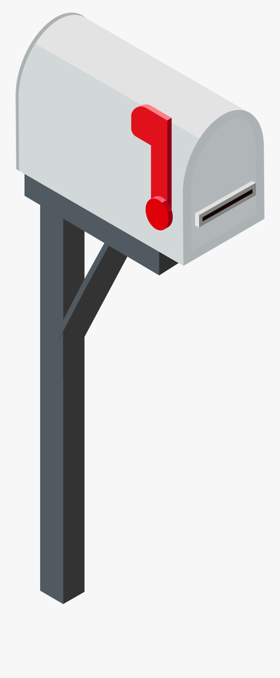 Mailbox Png Clip Art - Transparent Background Mailbox Clipart, Transparent Clipart