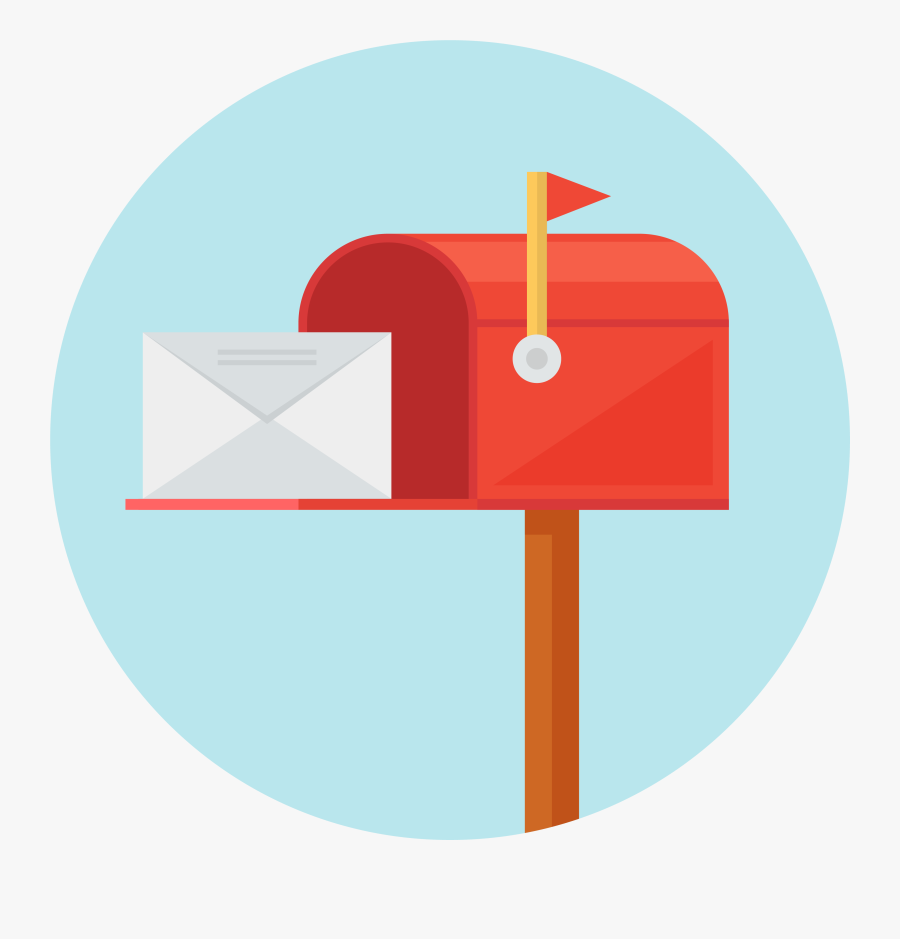 Mailbox Clipart Direct Mail - Mail Box Png, Transparent Clipart