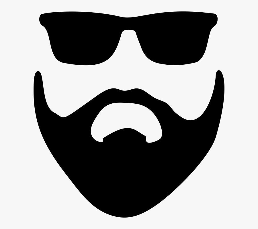 Transparent Afro Hair Clipart - Beard Png Clipart, Transparent Clipart