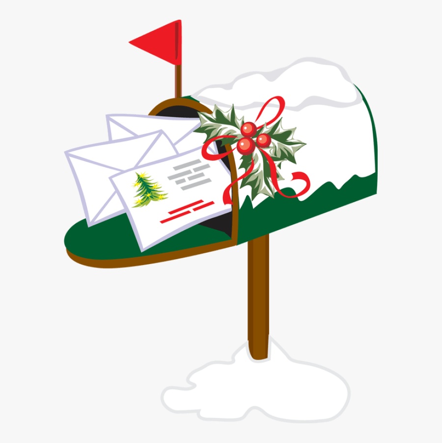 Christmas Mail Box Clipart - Buzon Navideño Png, Transparent Clipart