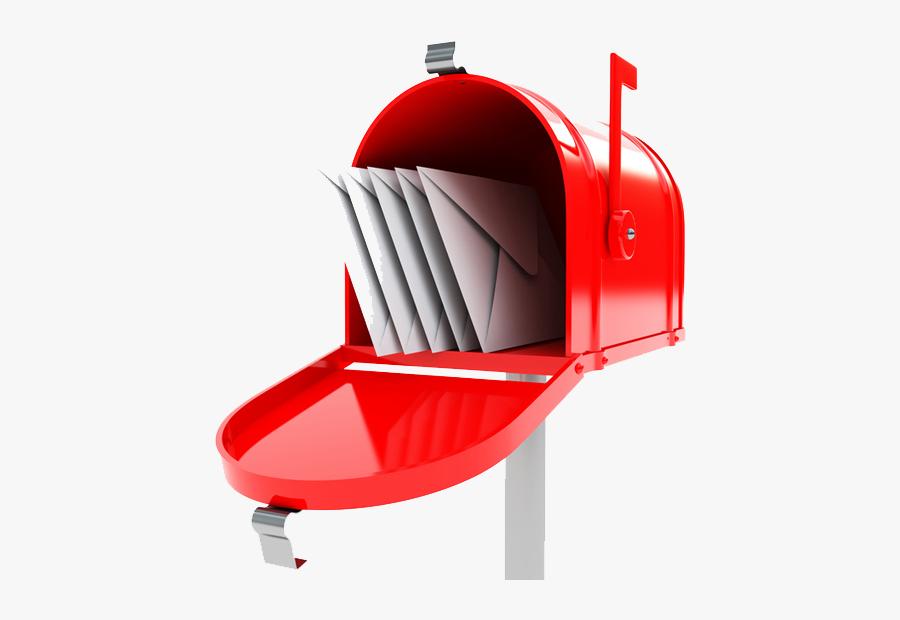 Mailbox Free Download Png - Courrier Boite Aux Lettres, Transparent Clipart