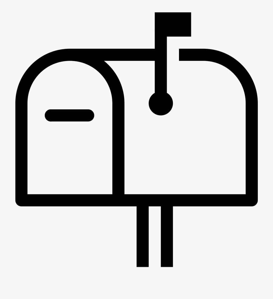 Letterbox Icon Free Download - Transparent Background Mailbox Icon, Transparent Clipart