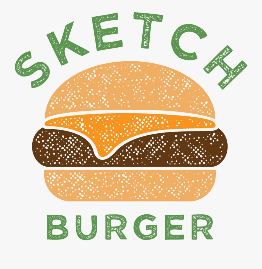 Clip Art Sketch - Sketch Burger Drawing, Transparent Clipart