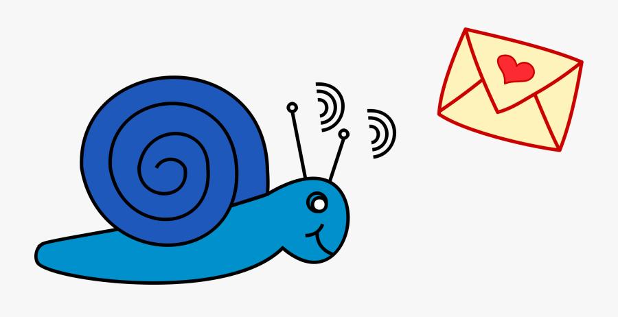Snail Clipart Snail Mail - Snail Mail Clipart Png, Transparent Clipart