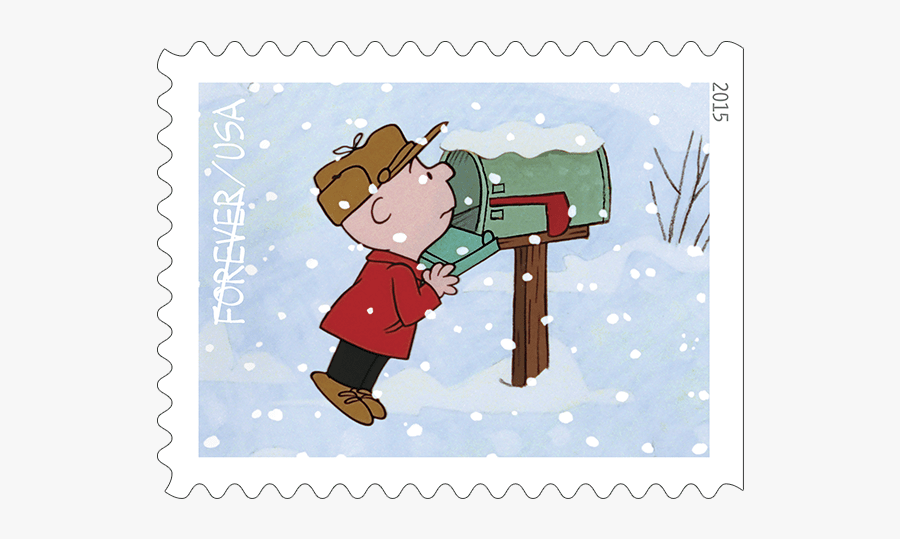 Christmas Mailbox Clipart - Postage Stamp Canada 2019, Transparent Clipart