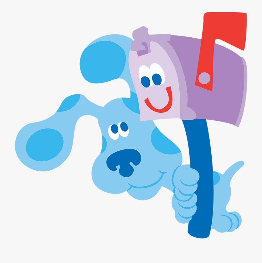 Blues Clues Blue Png - Blues Clues Mailbox And Blue, Transparent Clipart