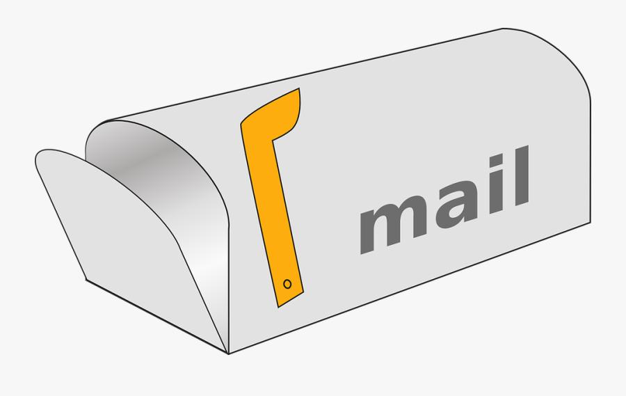 Mailbox Post Mail Rural - Mailbox Clipart, Transparent Clipart