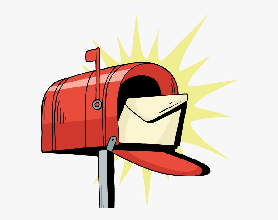 Denver Print Marketing Services - Mailbox, Transparent Clipart